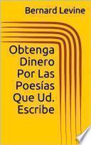libro Obtenga Dinero Por Las Poesías Que Ud. Escribe