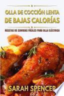 libro Olla De Coccion Lenta De Bajas Calorias