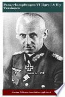libro Panzerkampfwagen Vi Tigre I & Ii Y Versiones