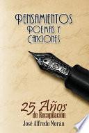 libro Pensamientos, Poemas Y Canciones