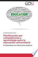 libro Planificación Por Competencias Y Aprendizaje Para La Educación Universitaria