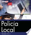 libro Policía Local. Temario Vol. Ii