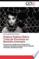 libro Política Pública Sobre Trata De Personas En Medellín Colombi
