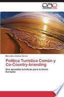 libro Politica Turistica Comun Y Co-country-branding
