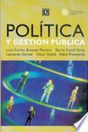 libro Política Y Gestión Pública