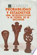 libro Probabilidad Y Estadística