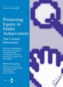 libro Promoting Equity In Maths Achievement. The Current Discussion