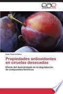 libro Propiedades Antioxidantes En Ciruelas Desecadas