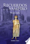 libro Recuerdos De Un Vampiro