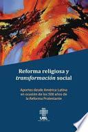 libro Reforma Religiosa Y Transformacion Social