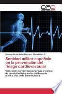 libro Sanidad Militar Española En La Prevención Del Riesgo Cardiovascular