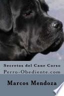 libro Secretos Del Can Corso/ Secrets Of Cane Corso
