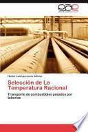 Selección De La Temperatura Racional