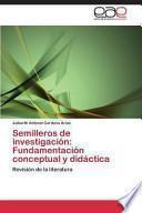 libro Semilleros De Investigación: Fundamentación Conceptual Y Didáctica