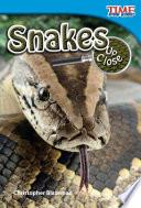 libro Serpientes De Cerca (snakes Up Close)