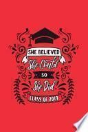 libro She Believed She Could So She Did
