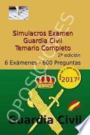 libro Simulacros Examen Guardia Civil