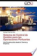 libro Sistema De Control De Gestión Para Las Operaciones Portuarias