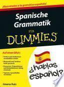 libro Spanische Grammatik Für Dummies