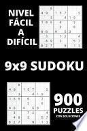 libro Sudoku - Nivel Fácil A Difícil