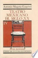 libro Teatro Mexicano Del Siglo Xx.