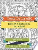 libro Tema De La Abc Libro Para Colorear Adulto