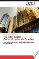 libro Transformadas Generalizadas De Esscher
