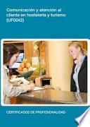 libro Uf0042   Comunicación Y Atención Al Cliente En Hostelería Y Turismo