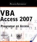 libro Vba Access 2007