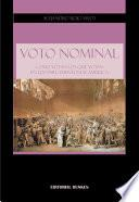 libro Voto Nominal