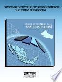 libro Xiv Censo Industrial, Xi Censo Comercial Y Xi Censo De Servicios. Censos Económicos, 1994. San Luis Potoyes