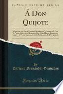 libro Don Quijote: Composicin Que Al Premio Ofrecido Por El Imparcial Para La Poesia L Rica, En El Concurso Con Que El Liceo Altamirano C
