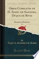 libro Obras Completas De D. Angel De Saavedra, Duque De Rivas, Vol. 4