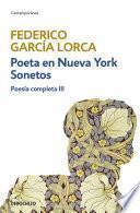 libro Poeta En Nueva York | Sonetos (poesía Completa 3)