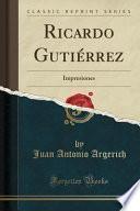 libro Ricardo Gutiérrez