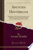 libro Apuntes Históricos