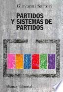 libro Partidos Y Sistemas De Partidos
