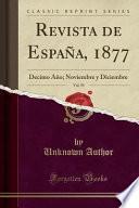 libro Revista De España, 1877, Vol. 59