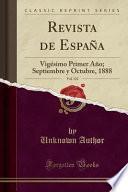 Revista De España, Vol. 123