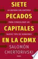 libro Siete Pecados Capitales En La Cdmx