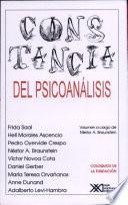 libro Constancia Del Psicoanálisis