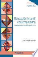 libro Educación Infantil Contemporánea