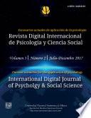 libro Revista Digital Internacional De Psicología Y Ciencia Social | Vol. 3 | Num. 2 | 2017