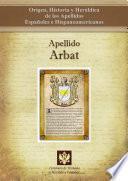 libro Apellido Arbat