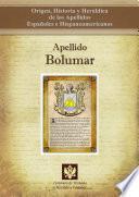 libro Apellido Bolumar
