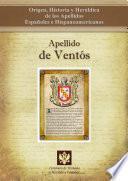 libro Apellido De Ventós