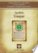 libro Apellido Gaspar