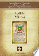 libro Apellido Maimí