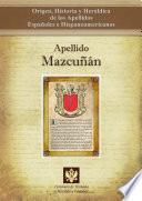 libro Apellido Mazcuñán