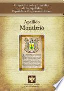libro Apellido Montbrió